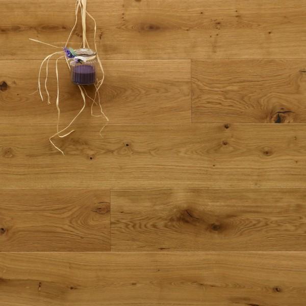 Parkett Landhausdiele Eiche Avignon aus der Serie Provence, mit einem Naturöl geölt, 14 x 190 (220) x 1900 (2200) mm, Välinge 5G Klick Verbindung, Sonderanfertigung nach Kundenwunsch