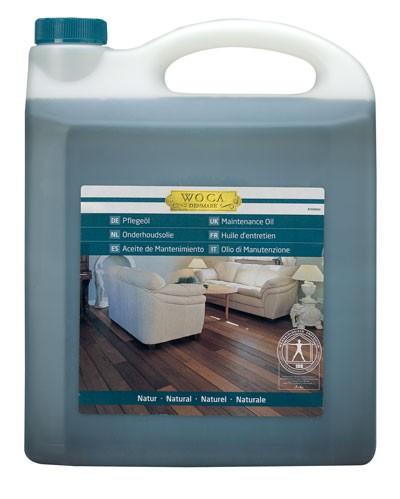 WOCA Meister Bodenöl Natur, Kanister mit 2,5 Liter, zur Ersteinpflege geölter Holzböden