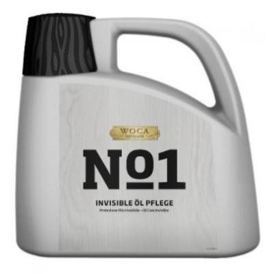 WOCA No1 Invisible Öl Care, Kanister mit 2,5 Liter, zur Ersteinpflege von Eiche Dielen in Rohholzoptik