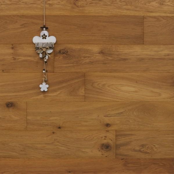 Parkett Landhausdiele Eiche Ristretto aus der Serie Piccolo, Markant, mit einem Naturöl geölt, 10 x 148 x 1200 mm, Drop Down Klick Verbindung