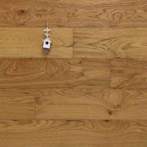 Parkett Landhausdiele Eiche Dachstein aus der Serie Mountain, Markant, gebürstet, mit einem Naturöl geölt, 15 x 190 x 1900 mm, Drop Down Klick Verbindung