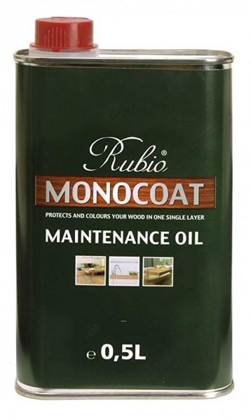 Rubio Monocoat Pflegeöl 5% weiß, Kanister mit 0,5 Liter, zur Auffrischung von nur leicht weiß geölten Böden