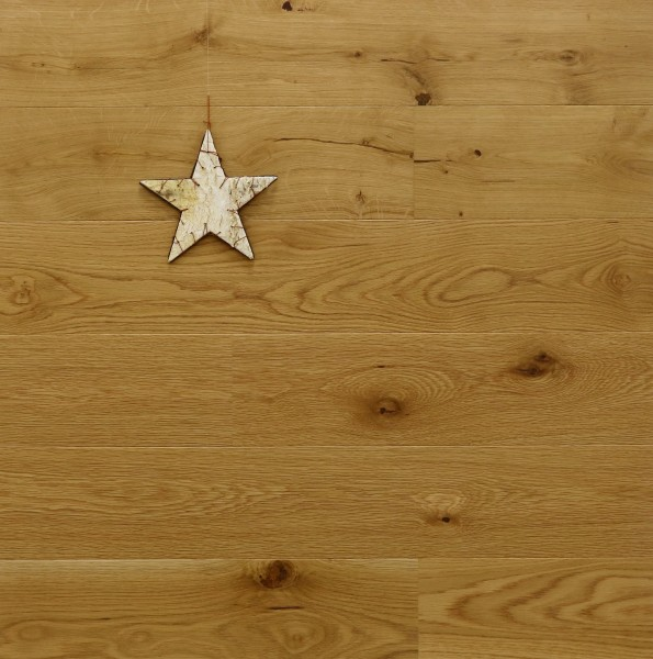 Eichenparkett Loire, Markant, gebürstet, UV geölt, 14 x 155 x 2200 mm, Soft Lock Klick Verbindung