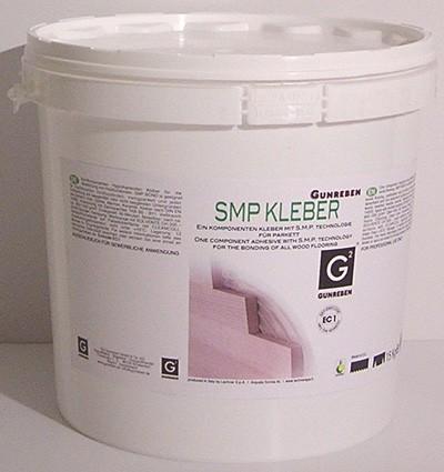 Gunreben 1K SM Polymer Parkettkleber elastisch, verbrauchsfertig und für Fußbodenheizung geeignet